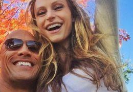 Dwayne Johnson und seine schwangere Freundin Lauren Hashian