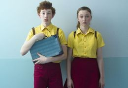 Harrison Feldman und Bethany Whitmore in Girl Asleep...Myers