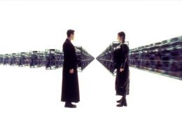 The Matrix mit Keanu Reeves und Carrie-Anne Moss