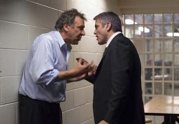 Tom Wilkinson und George Clooney in Michael Clayton