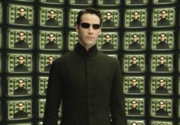 Matrix Reloaded mit Keanu Reeves