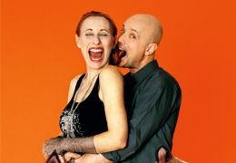 Andrea Sawatzki (spricht 'Mrs. Fox') und Christian...Fox')