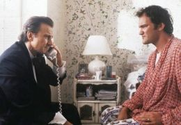Pulp Fiction - Harvey Keitel und Quentin Tarantino