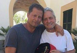 Til Schweiger und Michael Douglas auf Mallorca