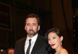 Nicolas Cage mit Alice Kim auf der Weltpremiere von...OODS.