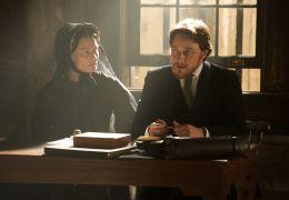 Die Lincoln Verschwörung - Robin Wright und James McAvoy