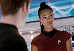 Zoe Saldana in 'Star Trek'