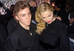 Madonna mit ihrem Sohn Rocco 2013