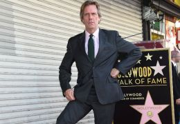 Hugh Laurie auf dem Hollywood Boulevard