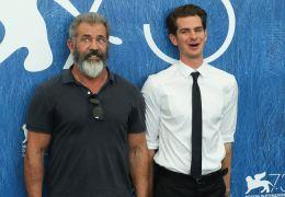 Mel Gibson und sein Hacksaw Ridge-Hauptdarsteller...field