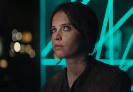 Felicity Jones in Rogue One - A Star Wars Story