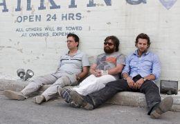 Hangover mit Ed Helms, Zach Galifianakis und Bradley Cooper