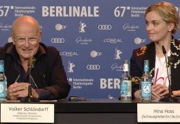 Berlinale-Pressekonferenz zu Return to Montauk mit...Hoss