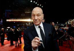 Patrick Stewart auf dem Roten Teppich der Berlinale