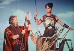 Die Zehn Gebote mit Charlton Heston und Yul Brynner