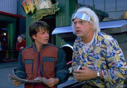 Zurück in die Zukunft II mit Michael J. Fox und...Lloyd