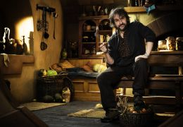 Peter Jackson am Set von The Hobbit: An Unexpected Journey