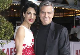 Amal und George Clooney