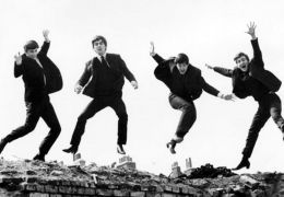 A Hard Day's Night mit Ringo Starr, George Harrison,...Lennon