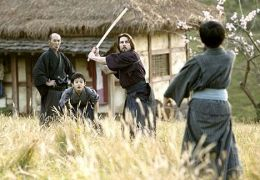 The Last Samurai mit Seizo Fukumoto, Tom Cruise und...matsu