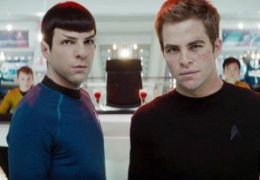 Chris Pine und Zachary Quinto in Star Trek