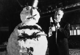 Drei Männer im Schnee mit Günther Lüders