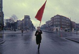 Farbtest Rote Fahne