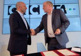CNC-Direktor Christophe Tardieu und FFA-Vorstand...inges