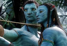 Avatar - Jake Sully (Sam Worthington) und Neytiri...dana)