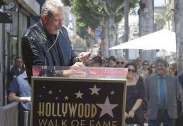 Jeff Goldblum bei seiner Danksagung auf dem Hollywood...evard