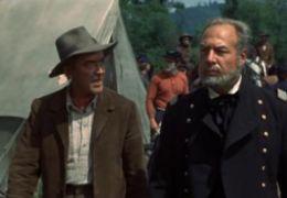 Der Mann vom großen Fluss - James Stewart und George Kennedy