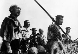 Die sieben Samurai - Toshiro Mifune, Minoru Chiaki,...himura