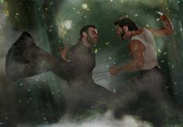 X-Men Origins: Wolverine - Liev Schreiber und Hugh Jackman