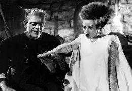 Frankensteins Braut - Boris Karloff und Elsa Lanchester