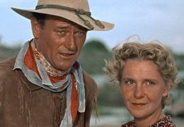 Man nennt mich Hondo - John Wayne und Geraldine Page