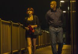 The Equalizer - Chloe Grace Moretz und Denzel Washington