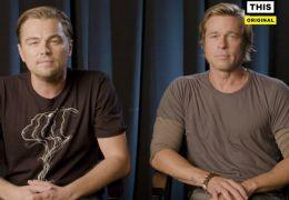 Leonardo DiCaprio und Brad Pitt im Wahl-Video