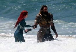 Aquaman - Amber Heard und Jason Momoa