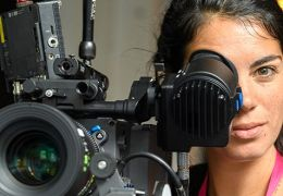 Das Talent Naama Bunimovitz beim Camera Studio