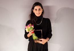 Gewinnerin des Kompass-Perspektive-Preises Maryam Zaree