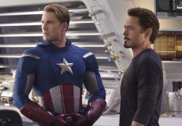 The Avengers - Chris Evans als Captain America und...Stark