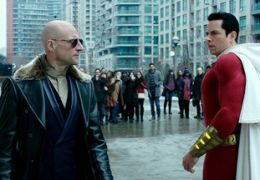 Shazam - Mark Strong und Zachary Levi
