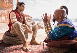 Aladdin - Mena Massoud und Will Smith