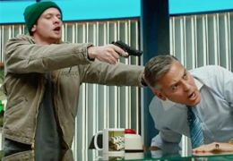 Money Monster - Jack O'Connell und George Clooney