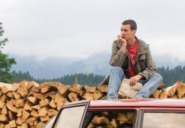 Vincent will Meer - Vincent (Florian David Fitz) und...Auto
