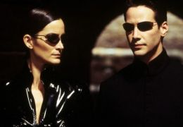Matrix - Carrie-Ann Moss und Keanu Reeves