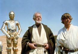 Star Wars - Anthony Daniels, Alec Guinness und Mark Hamill