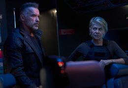 Terminator: Dark Fate - Arnold Schwarzenegger und...ilton
