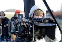 Kamera-Talent Nadja Krüger beim Dreh von Amygdala