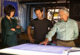 Ant-Man - Evangeline Lilly, Paul Rudd und Michael Douglas